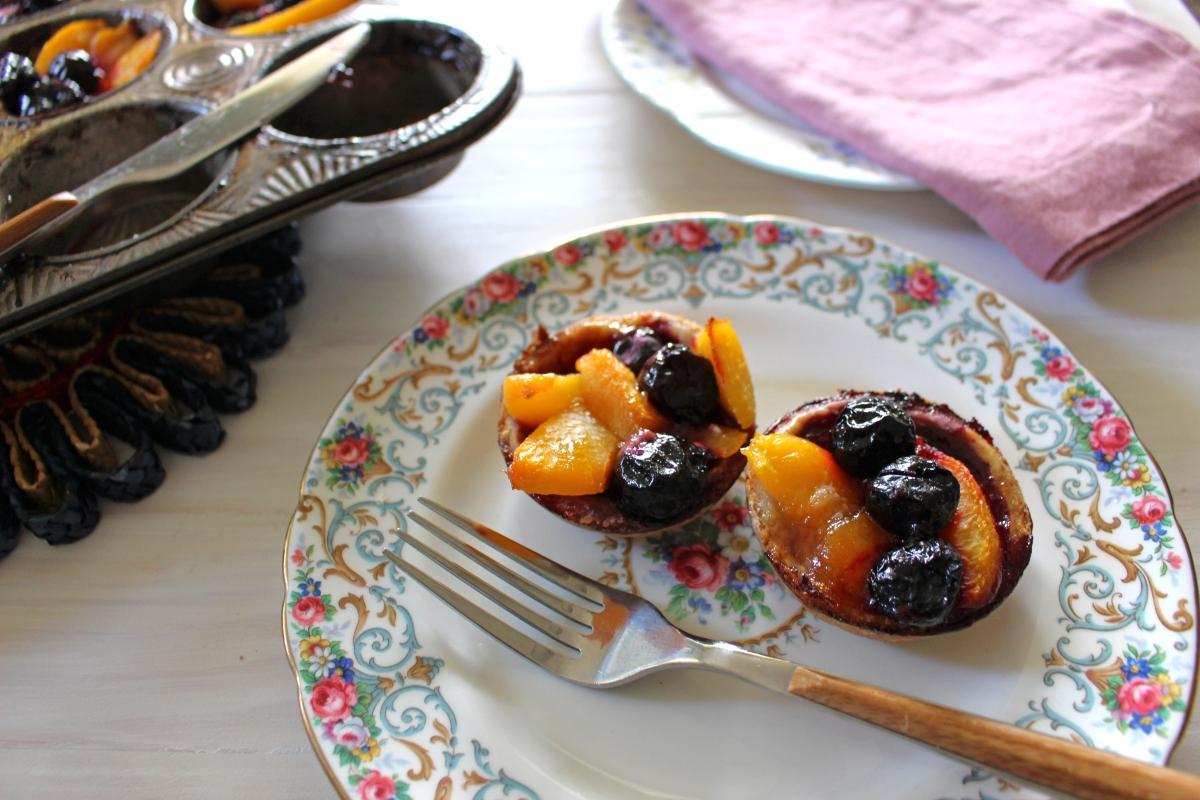 peach cherry tart cups 6